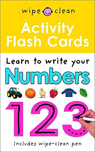 Numbers 123 Flashcards: Wipe Clean Activity Flashcards