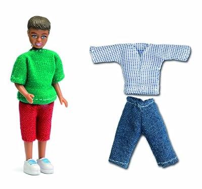 Lundby 60.8034.00 - Småland: niño con ropa para las muñecas de la casa [Importado de Alemania] por Lundby