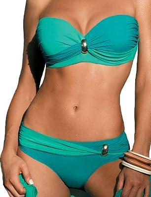 Marko Liliana M-259 Bikini Muy Llamativo Con Copas Acolchadas - Hecho En La UE
