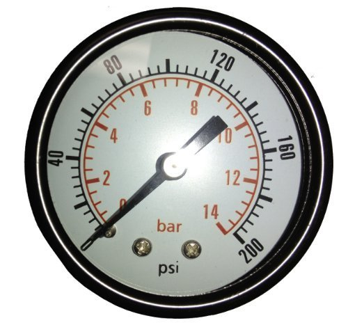 New Air Pressure Gauge for air compressor WOG water oil gas 2