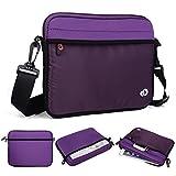 Kroo Tablet/Laptop Hülle Sleeve Case mit Schultergurt für Lenovo A7–30A3300 violett violett
