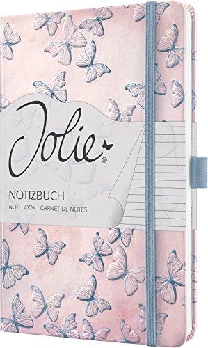 Sigel JN313 Notizbuch Jolie, ca. A5, liniert, Dreamy Butterflies