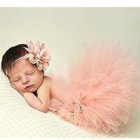 HENGSONG Neugeborenes Baby Rock Tutu Kleidung Trikot Kostüm Foto Prop Outfits Bekleidung Set