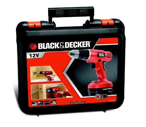 TRAPANO A BATTERIA BLACK&DECKER EPC12CA POTENZA 12V PROFESSIONALE