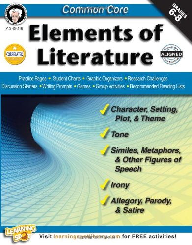 Common Core: Elements of Literature, Grades 6 - 8