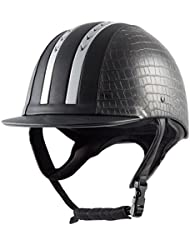 Pfiff–Casco de equitación E01, mujer, Reithelm 'E01', Schwarz 53cm, negro, 53 cm