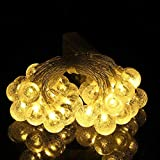 Fairy Lamp String, 2 / 3Meters 20 / 30LED Birnen Kristallkugel Lampe für Party Decor(2m)