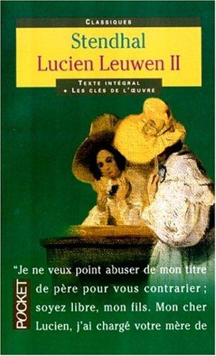 Lucien Leuwen, tome 2