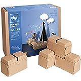 Grandes bloques de construcción – un juguete de construcción creativo con 96 bloques XL - un regalo increíble para niños y niñas