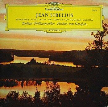 "Price comparison product image Jean Sibelius,  Herbert Von Karajan LP 33T 12"" Finlandia - Valse triste - Le cygne de Tuonela - Tapiola"