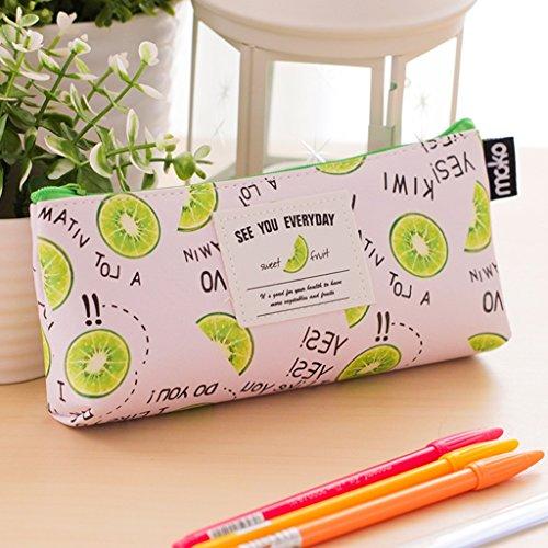 borse per studenti cancelleria creativa piccole frutta fresca party girls giardino matita ( colore : Kiwi ) - Frutta Cancelleria