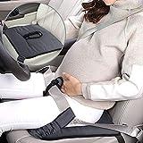 Rovtop Cinturón para Embarazada de Seguridad en el Coche que Protege al Bebé y la Mamá Embarazada Seguridad del Cinturón Protector Ajustable para Mujer- Negro