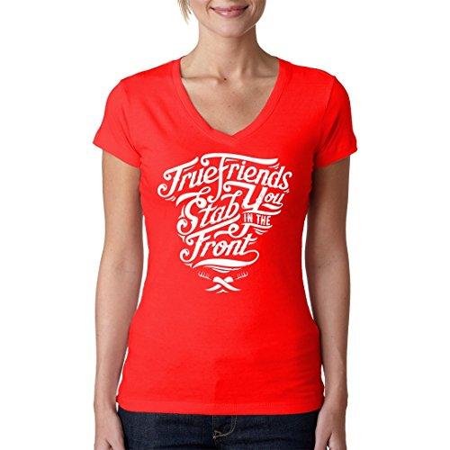 Im-Shirt - True Friends Shirt cooles Fun Girlie Shirt - verschiedene Farben Rot
