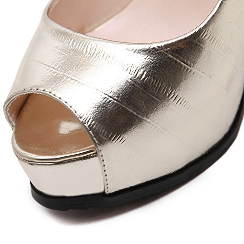 Inconnu 1to9 - Ballerines Femme Or