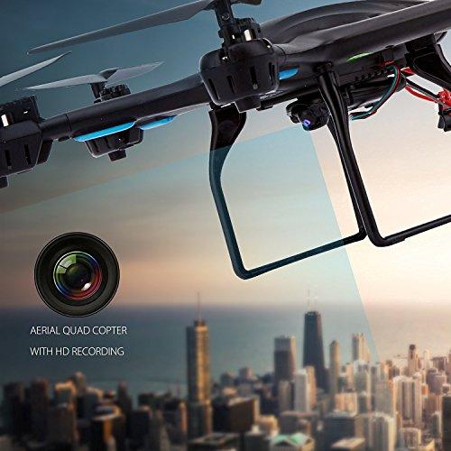 Live Video FPV Drohne mit Kamera MJX X600 Drone Quadcopter Throttle Limit Ein Key rückwärts VR Kompatibel - 2