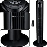 Syntrox Germany Turmventilator Tower Ventilator mit Fernbedienung, 7,5 Stunden Timer und Oszillation