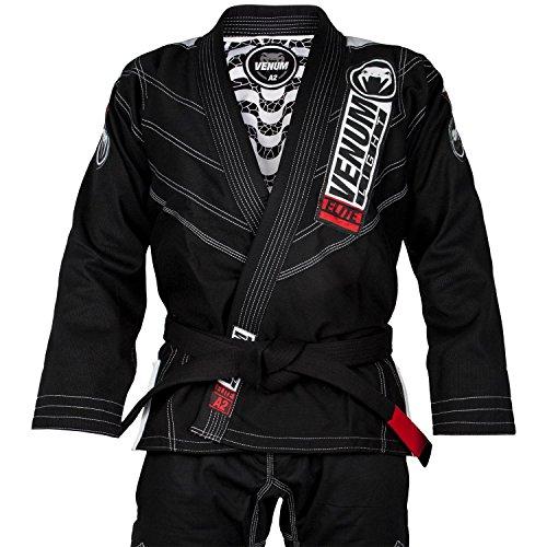 Venum elite light 2.0, kimono bjj uomo, nero, a1