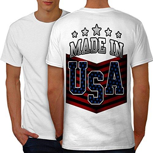 Usa-t-shirt Im Gemacht (wellcoda Gemacht IM USA Männer S Ringer T-Shirt)