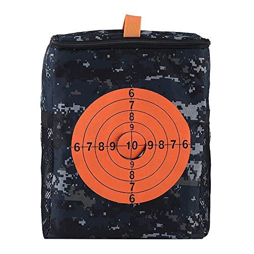 Borsa Portaoggetti Attrezzi per Pistole Nerf Borsa da Trasporto Target Custodia per Nerf Elite Attrezzature Bag Pack di Accessori Toy Gun Bullets Storage Bag Borsa Portatile Freccette N-strike Elite