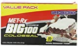 MET-Rx MET-Rx Colossal Super Cookie Crunch Value Pack 4-3.52 oz. Bars (Pack of 2) by MET-Rx