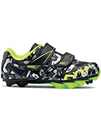 Zapatillas Northwave Hammer Junior Camuflaje-Amarillo 2016