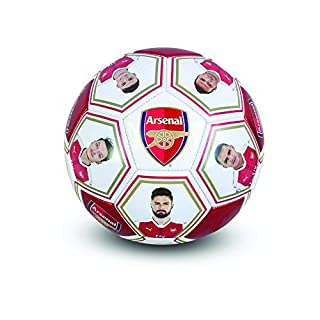 Arsenal F.C. Size 5 Football with players' signature and images