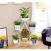 b1d04a1d41b8 Porte Plante Support de fleurs en fer de style européen rayon vert à  plusieurs étages étagère