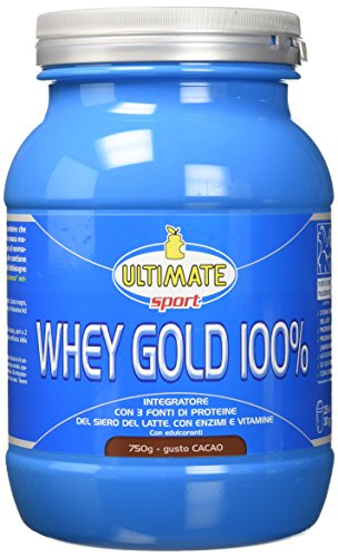 Ultimate italia wgc750 whey gold 100% proteine del siero del latte - 750 gr