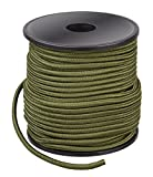 Commando Survival Seil aus Nylon - universell einsetztbar Oliv 5 mm x 70 m