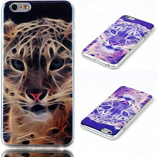 Uming® Copertura di caso della TPU colorful soft modello della stampa Case Cover ( Tiger - per IPhone 5S 5 5G IPhone5S IPhone5 ) Sacchetto di caso della copertura della protezione del silicone del tel Tiger