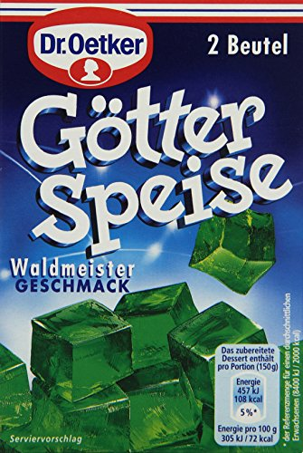Dr. Oetker Götterspeise Waldmeister-Geschmac, 23,4 g