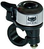 Cateye OH-1200 Brass Bell Fahrradklingel, Silber, One Size