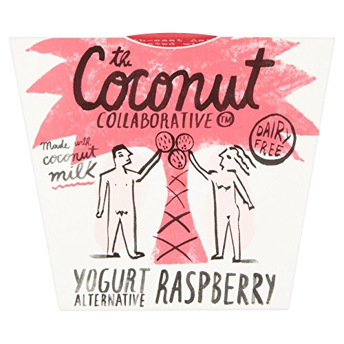 The Coconut Collaborative Natural Coconut Milk Yoghurt Alternative with Raspberry Compote, 120g Test