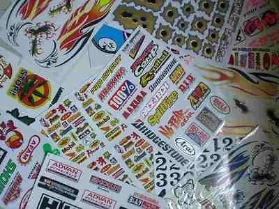Collecte de paquet Motocross Racing Tuning Sticker Decal plus de