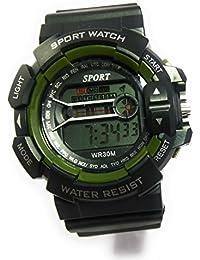 R2 Sport Black Dial Black Strap Digital Watch For Men's & Boys (SPO_r2wa02)
