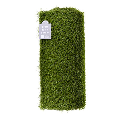 talking-tables-artificial-grass-table-runner-for-game-day-easter-birthdays-weddings-49ft-x-157in-gre