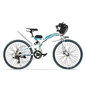 516JSfqVBFL. SS300 K660 26 pollici potente bici elettrica E, motore 48V 12AH 500 / 240W, telaio in acciaio ad alto tenore di carbonio con…