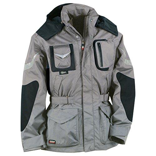 Cofra Icestorm - Giacca invernale da lavoro, colore: grigio/nero, 40-00V00601-50