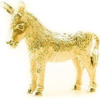 Asino Made in UK, Collezione Statuetta Artistici Stile animale (con la placcatura d'oro 22 carati)