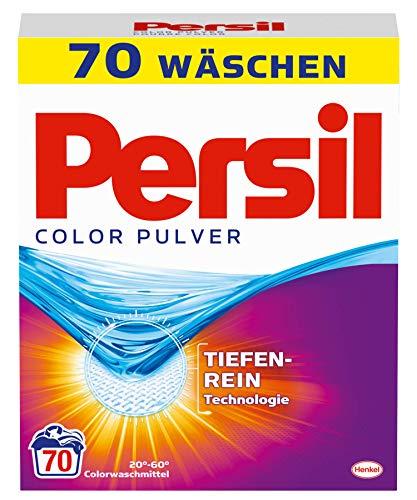 Persil Color Pulver, 1er Pack (1 x 70 Waschladungen)