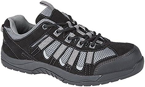 Grafters - Zapatillas de trabajo/Seguridad laboral caña al tobillo para hombre