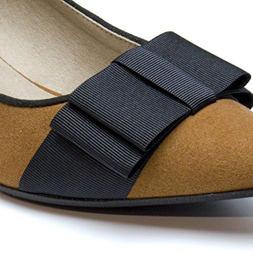 NAE Valentina Braun - Damen Vegan Schuhe - 4