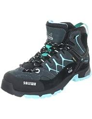 SALEWA JR ALP TRAINER MID GTX 00-0000064001 - Zapatillas de senderismo de ante para niños