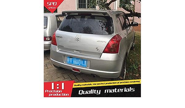 Für Suzuki Swift Spoiler Abs Material Auto Heckflügel Grundierung Farbe Heckspoiler Für Suzuki Swift Spoiler B 2008 2015 Auto