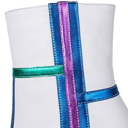Nine SevenAnkle Bootie - Anfibi donna White