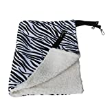 Warm Hanging Cat Bed Mat Soft Cat Hammock Winter Hammock Pet Kitten Cage Bed Cover Cushion Air Bed Pet Products