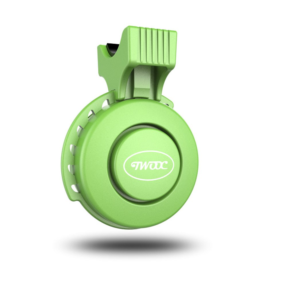 Rokoo USB Wiederaufladbare Fahrradklingel 120dB Wasserdichte Lenker Fahrrad Horn Alarm f/ür Radfahren RoadBike Mountainbike