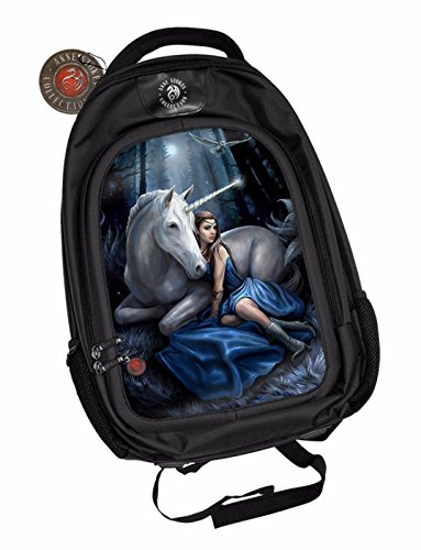 Anne-Stokes-Official-3D-Unisex-Backpack-Blue-Moon-Gothic-School-Padded-Laptop
