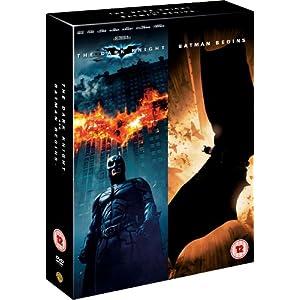 Batman Begins / The Dark Knight (DVD + UV Copy) [2005]