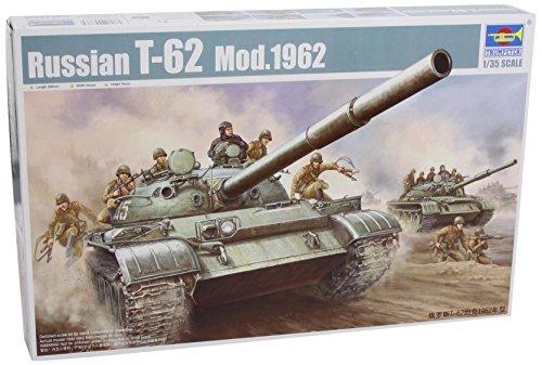 Trumpeter 00376 Modellbausatz T-62 Main Battle Tank Mod. 1962